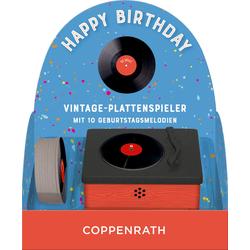 Vintage-Plattenspieler - Happy Birthday