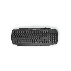 nedis US-amerikanisches Tastaturlayout, Schwarz Gaming-Tastatur