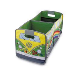 VW Collection by BRISA Faltbox VW Bulli T1, Organizer für den Kofferraum grün