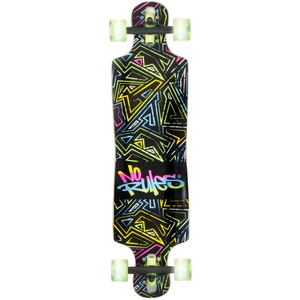 No Rules Longboard Compact ABEC 7 Neon (361)