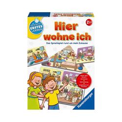 Ravensburger Lernspielzeug Hier wohne ich - Sprach-Lernspiel
