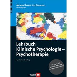Lehrbuch Klinische Psychologie - Psychotherapie: eBook von