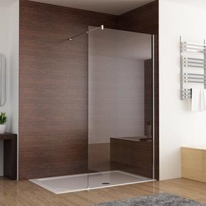 Duschabtrennung walk in Duschwand Seitenwand Dusche 10mm Glas Duschtrennwand 100 x 200 cm