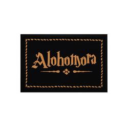 Fußmatte Fußmatte mit Aufschrift Alohomora Türmatte für Fantasy-Fans Zauberspruch rutschfest & waschbar Moonworks®, MoonWorks, rechteckig