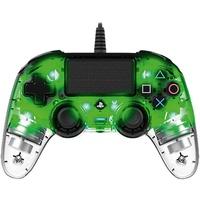 nacon PS4 Compact Controller Illuminated transparent / grün