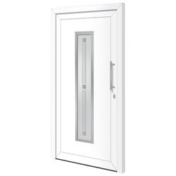 RORO Türen & Fenster Haustür Otto 7, BxH: 100x200 cm, weiß, ohne Griff
