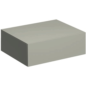 Keramag / Geberit Xeno2 Seitenschrank 1 Schublade 580 mm x 462 mm x 200 mm - Greige matt - 500507001