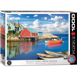 empireposter Puzzle Fischerdorf in Nova Scotia Kanada - 1000 Teile Puzzle - Format 68x48 cm, 1000 Puzzleteile