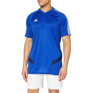 adidas Herren TIRO19 TR JSY T-Shirt, Bold Blue/Dark Blue/White, S