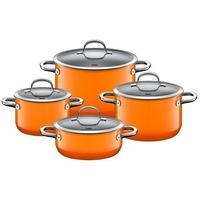Orange Topf-Set 4-tlg. Fleischtopf (3x) + Bratentopf