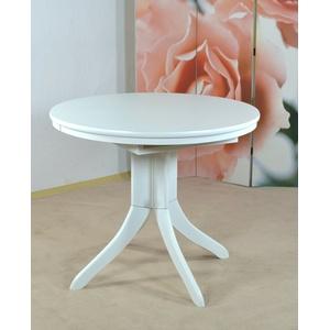 """Esstisch """"Ausziehbar"""" weiß rund Tisch Küchentisch Esszimmertisch Auszugtisch"""