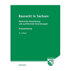 Baurecht in Sachsen als Buch von