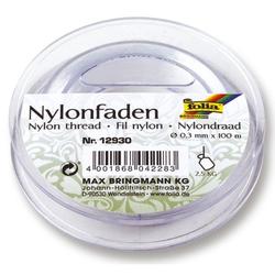 FOLIA 12930  0,3mm Nylonfaden auf Spule 100m