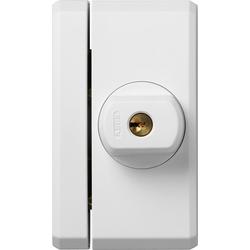 ABUS Fensterzusatzsicherung FTS96 W vs. EK, Bedienung mit Schlüssel weiß