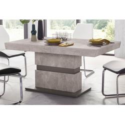 Homexperts Säulen-Esstisch Marley, Breite 140 oder 160 cm 160 cm x 75 cm x 90 cm