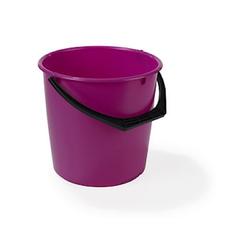 Nordiska Plast Plastikeimer 10L Rosa