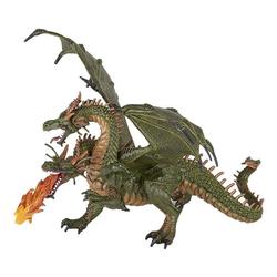 papo Spielfigur Zweiköpfiger feuerspeiender Drache