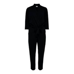 ONLY 3/4-ärmel Jumpsuit Damen Schwarz Female S
