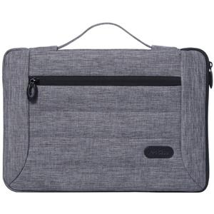 "ProCase 12-12,9 Zoll Laptop Sleeve Case Cover Tasche für MacBook Surface Pro 7 6 5 4 3 12.3 Zoll, Apple iPad Pro 12.9 Zoll, die meisten 11""12"" Laptop Ultrabook Notebook MacBook Chromebook -Grau"