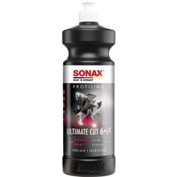 SONAX PROFILINE UltimateCut Schleifpolitur, Hocheffektive Schleifpolitur für hohe Prozessgeschwindigkeiten, 1 Liter - Flasche