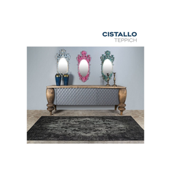 Teppich Cristallo, HOME DELUXE, rechteckig, Höhe 5 mm 160 cm x 230 cm x 5 mm
