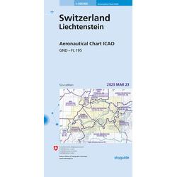 Aeronautical Chart ICAO 1:500 000
