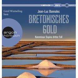 Bretonisches Gold als Hörbuch CD von Jean-Luc Bannalec