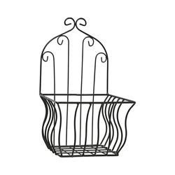 "BOLTZE Regal 2-tlg. Blumentopfhalter Set ""Korb"" B16/20xH32/35cm"