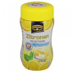 Krüger Instant Teegetränk Zitrone 50 Prozent kalorienreduziert 400g