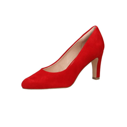 Caprice 9-22400-24 524 Red Suede Pumps 38.5