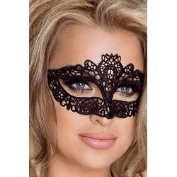 Venezianische Augenmaske in schwarz