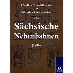 Sächsische Nebenbahnen (1886) als Buch von