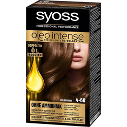 3 x Syoss Oleo Intense Haarfarbe 4-60 Goldbraun je 115 ml