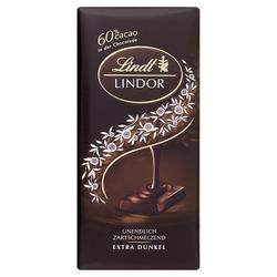 Lindt & Sprüngli Lindor, Dark 60% 100g 5er Pack