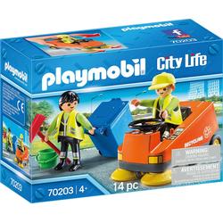 Playmobil® Konstruktions-Spielset PLAYMOBIL® 70203 Kehrmaschine