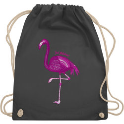 Shirtracer Turnbeutel Flamingo - Just Fabulous - Vögel - Turnbeutel