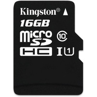 Kingston microSDHC Industrial Temperature 16GB Class 10 UHS-I