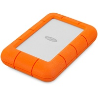 LaCie Rugged Mini 4 TB USB 3.0 silber/orange