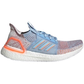 adidas Ultraboost 19 W glow blue/hi-res coral/active maroon 36 2/3