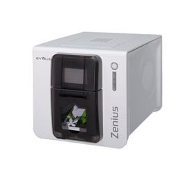 Zenius Expert- Farb-Plastikkartendrucker, braun, USB und Ethernet
