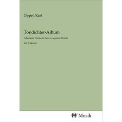 Tondichter-Album als Buch von