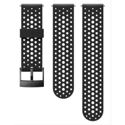 Suunto - Bracelet 24 mm Athletic 1 black S+M - Uhren
