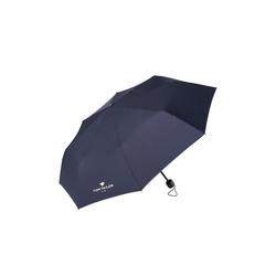 TOM TAILOR Taschenregenschirm Extra kleiner Regenschirm blau