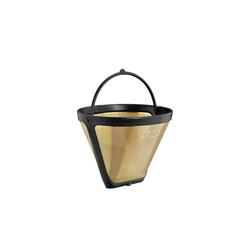 Cilio Kaffeebereiter Dauerfilter Größe 2 Kaffee Gold