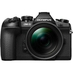 Olympus OM-D E-M1 Mark II inkl. 12-40mm PRO Objektiv Systemkamera (12-40 mm PRO, 20,4 MP, WLAN (Wi-Fi), Gesichtserkennung, HDR-Aufnahme)