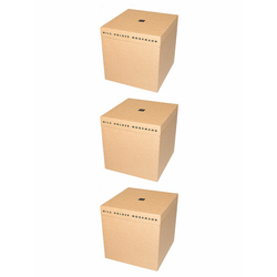 Nils Holger Moormann Archivbox für FNP Regal – groß beige, Designer Nils Holger Moormann, 32.5x32.5x34 cm