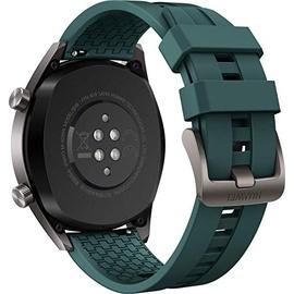 Huawei Watch GT Active titangrau edelstahl / dunkelgrün