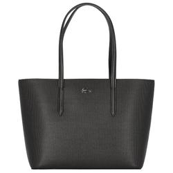 Lacoste Chantaco Shopper Tasche Leder 30 cm noir