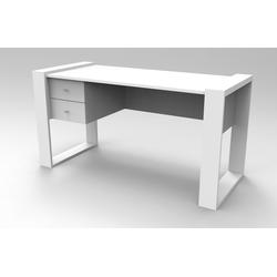 moebel17 Schreibtisch Schreibtisch Lord Weiß