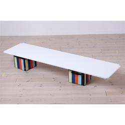 Flexa White Tisch für Hochbett in weiß, VERSANDKOSTENFREI